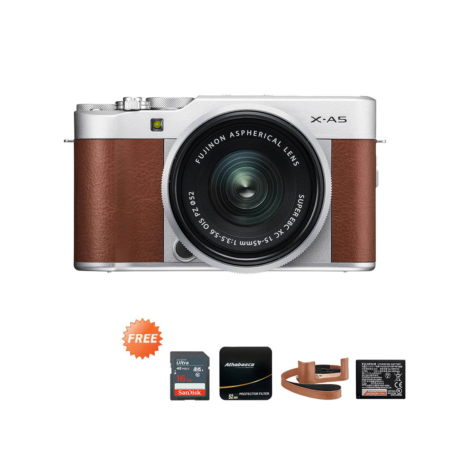 Promo X-A5 15-45mm Brown September 2020