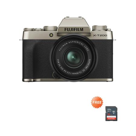 Fujifilm X-T200 XC15-45mm Gold Promo Oktober 2020