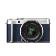 Fujifilm X-A7 Kit XC 15-45mm Navy Blue
