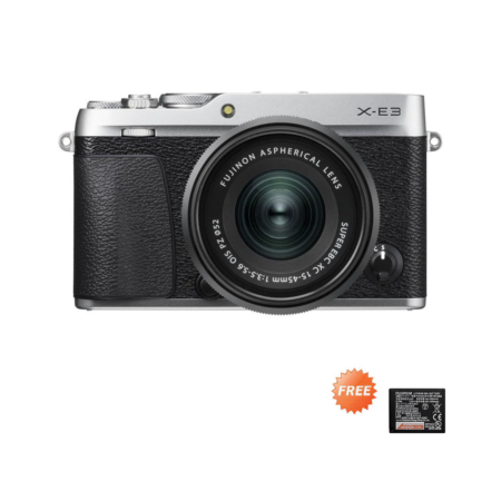 Promo X-E3 15-45mm Silver September 2020