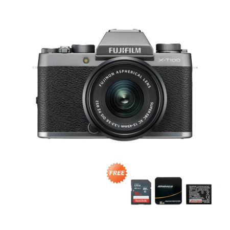 Promo X-T100 15-45mm Dark Grey September 2020