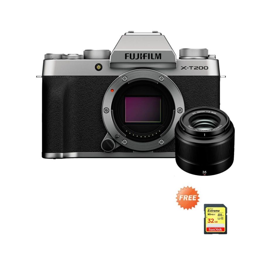 Fujifilm X-T200 XC35mmF2 Silver Promo Oktober 2020