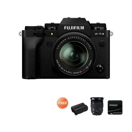 Fujifilm X-T4 Black XF18-55mm Promo Oktober 2020