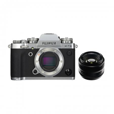 Fujifilm X-T3 35mmF1.4 Silver