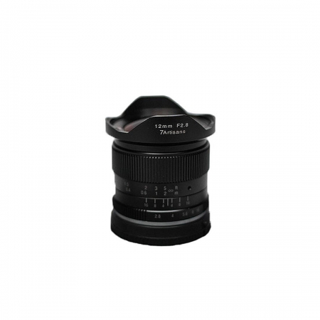 7Artisans 12mm F2.8 for Fuji-X Black