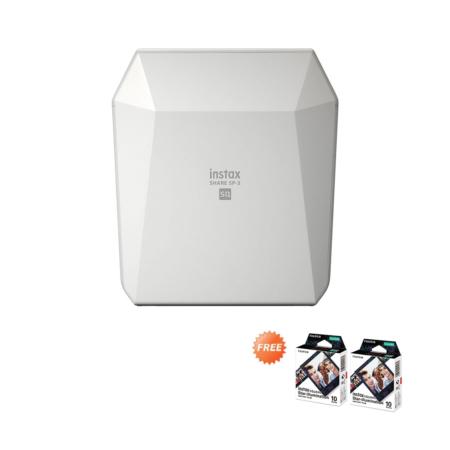 Fujifilm Instax SP3 White FREE Paper Agustus 2020