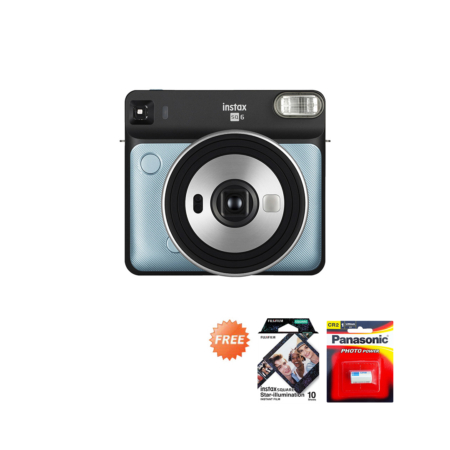 Promo Instax SQ6 Aqua Blue September 2020
