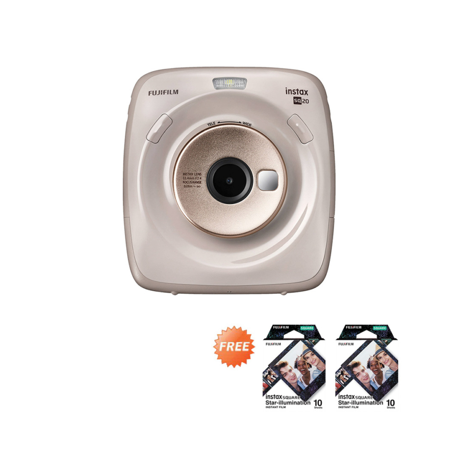 Promo Instax SQ20 Beige September 2020
