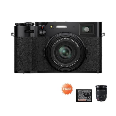 Fujifilm X-100V Black Promo Oktober 2020