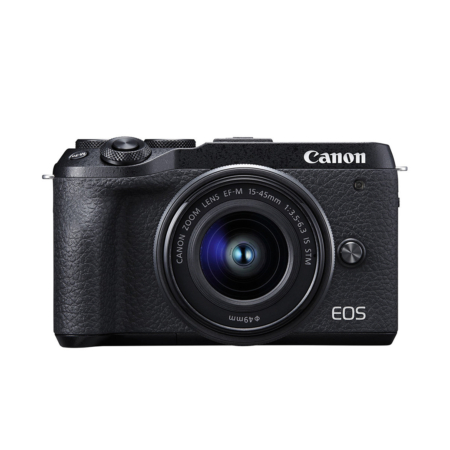 Canon EOS M6 Mark II with 15-45mm Lens