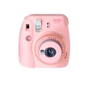 FUJIFILM INSTAX Mini 9 Instant Film Camera Clear Pink
