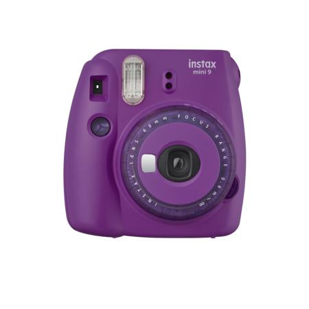 FUJIFILM INSTAX Mini 9 Instant Film Camera Clear Purple