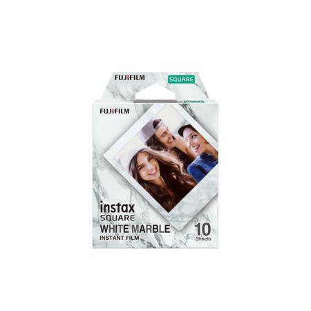 Fujifilm Instax Square Film White Marble
