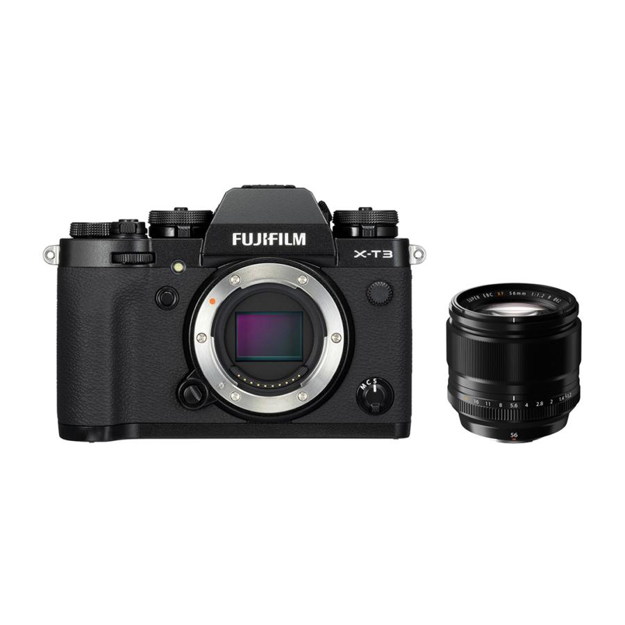 Fujifilm X-T3 56mmF1.2 Black