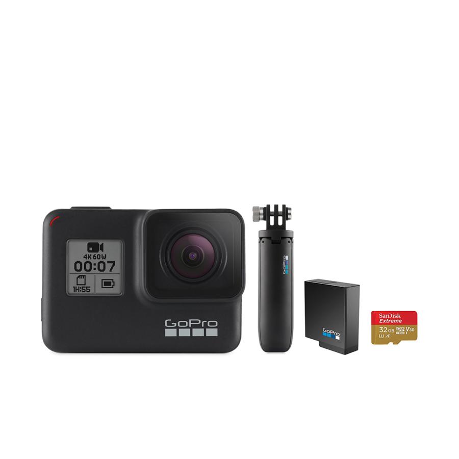 GoPro Hero 7 Black Holiday Bundle Package