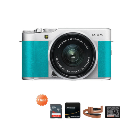 Promo X-A5 15-45mm Mint Green September 2020