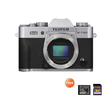Promo X-T20 Body Only Silver September 2020