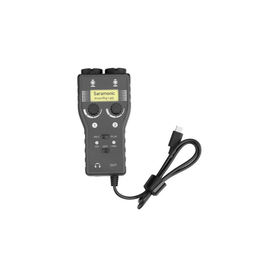 Saramonic Smartrig+ UC 2 Channel Interface XLR for USB C Smartphones
