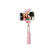 Sirui Smart Selfie Stick with Built-In LED Light (Pink) 04